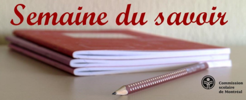 Atelier APL : semaine du savoir à la CSDM